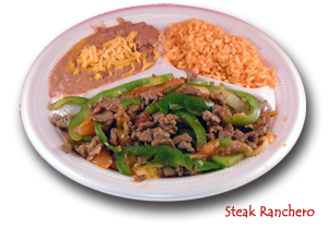 Breakfast - Steak Ranchero